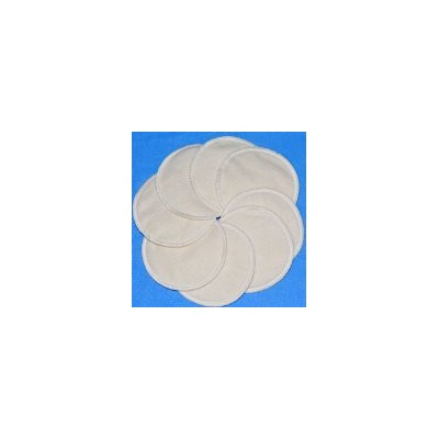NuAngel Washable Nursing Pads - 100% Cotton - 8 Pads - Extra Soft, Comfortable, Absorbent by NuAngel