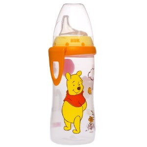 NUK Disney Winnie the Pooh Silicone Spout Active Cup, 10-Ounce by Disney