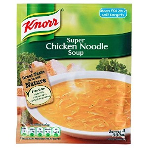 Knorr Super Chicken Noodle Soup (51g) クノールスーパーチキンヌードルスープ( 51グラム)