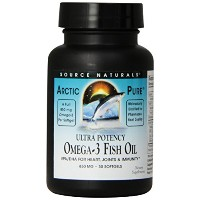 海外直送品 Source Naturals Arcticpure, Ultra Potency 30 Softgels