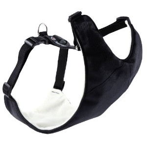 Canine Friendly Vest Harness XX-Small, Black by Canine Friendly