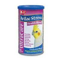 8 in 1 Pet Products Cockatiel Ultrablend Avilac Stress Diet 7oz by Eight in one