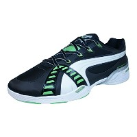 Puma Accelerate VI Mens Sneakers / Shoes-Black-31.5