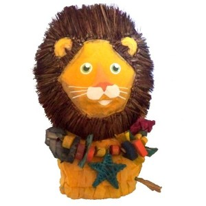Louie the Lion 8 Polly Wanna Pinata Bird Toy by Fetch for Pets