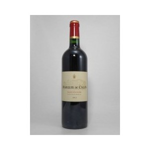 マルキ ド カロン[2012]赤(750ml) Bordeaux Saint-Estephe Marquis de Calon[2012]