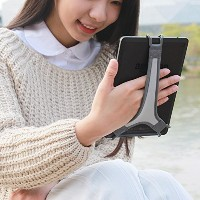 "TFY タブレット用安全ハンドストラップ - Fire 7"" / Fire HD 8 / iPad mini / Galaxy Tab S 8.4 / Galaxy Tab 2 / 3 / 4 /..."