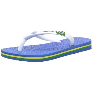 Ipanema Rio II Kids Flip Flops / Sandals-Blue-19.5-20