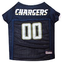 San Diego Chargers Pet Jersey XL