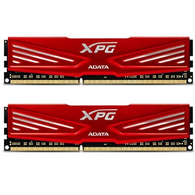 AX3U1866W8G10-DR [XPG V1.0 Series DDR3 1866MHz(PC3-14900) 16GB(8GBx2枚組) Red]
