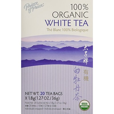 海外直送肘 Organic White Tea, 20 Bag