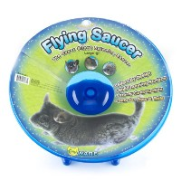 Ware Manufacturing Flying Saucer Exercise Wheel for Small Pets, 12-Inch - Colors may vary by Ware...