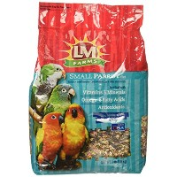 L/M Animal Farms BLM12211 4-Piece Small Parrot Toy, 8-Pound by L & M Animal