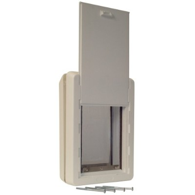 Perfect Pet The All-Weather Energy Efficient Dog Door Small Adjustable, Insulated Frame 5-Inch by 9...