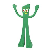 MultiPet 16681 Nostalgic Gumby Dog Toy by Multi Pet