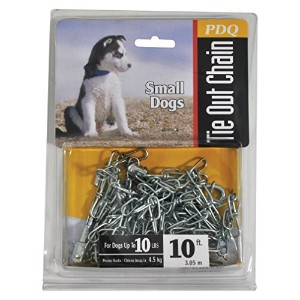 10' Small Dog Swivel Chain Tie-Out Boss Pet Products Pet Supplies 53010 by BOSS Audio