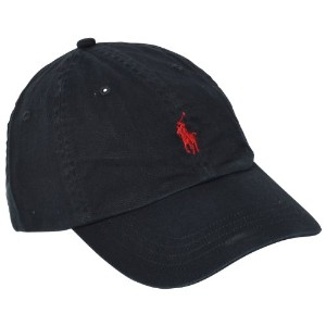 (ポロ・ラルフローレン)Polo Ralph Lauren 並行輸入 Cap Polo Chino Baseball Cap 6516496 RL Black OS