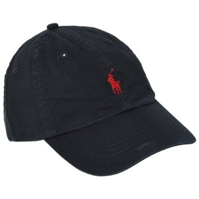 (ポロ・ラルフローレン) Polo Ralph Lauren 並行輸入 Cap Polo Chino Baseball Cap 6516496 RL Black OS
