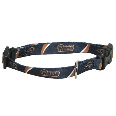 Hunter MFG St. Louis Rams Dog Collar, Large by NFL