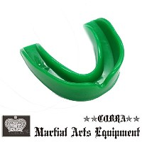 COBRA 薄型マウスピース(ケース付き) MOUTH GUARD GREEN