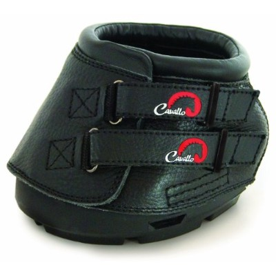 Cavallo Simple Hoof Boot for Horses, Size 6, Black by Cavallo