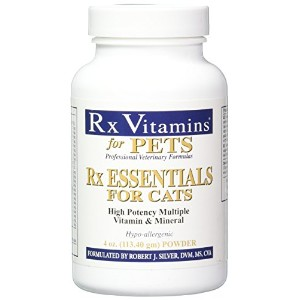 Rx Vitamins Essentials Powder for Cats, 4 oz/One Size by Rx Vitamins