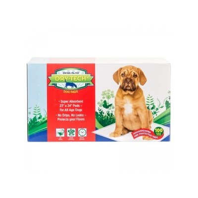Dry-Techテつョ Doggie Pads w/Natural Attractant, 23 x 24 Size, 50 count by Penn-Plax