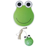 OPTICAL MOUSE&PAD SET Frog