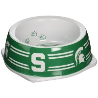【並行輸入品】Sporty K9 Michigan State Dog Bowl Small
