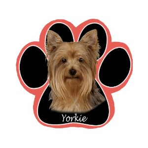 Yorkie Dog Paw Non-Slip Mousepad by E&S Pets