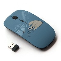 KOOLmouse [ ワイヤレスマウス 2.4Ghz 無線光学式マウス ] [ Polar Bear Computer Tech Art Global Warming ]