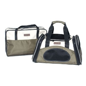 One for Pets The One Bag Expandable Pet Carrier, Large, Olive by One for Pets