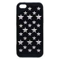 enchanted.LA STAR STUDDED LEATHER COVER CASE #BRILLIANT STARS エンチャンテッドエルエースタースタッズレザーケース iPhone6s /...