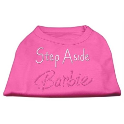 Step Aside Barbie Shirts Bright Pink L (14)