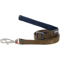 Red Dingo L6-ZZ-BR-LG Dog Lead Classic Brown, Large