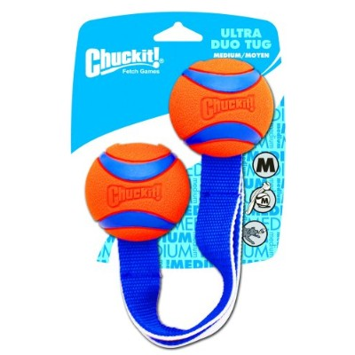 Chuckit! Dog ULTRA DUO TUG Toy Launcher Compatible Durable Fetch Toy MEDIUM
