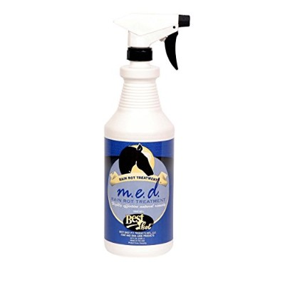 Best Shot Pet Equine M.E.D Rain Rot Treatment, 32 oz by Best Shot Pet