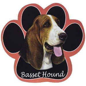 Basset Hound Dog Paw Non-Slip Mousepad by E&S Pets