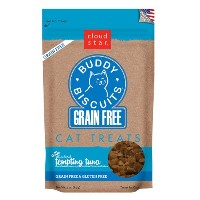 Cloud Star BUDDY BISCUITS Grain Free Soft Chewy Cats Treats Tempting Tuna 3 oz