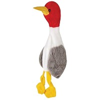 Grriggles US2001 18 18 Wild Bird Unstuffies Seagull Dog Squeak Toy, Large by Grriggles