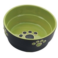 """Ethical Products Spot Fresco Dish Dog Pet Design Food Water Dishes Bowl Green 7"""""""