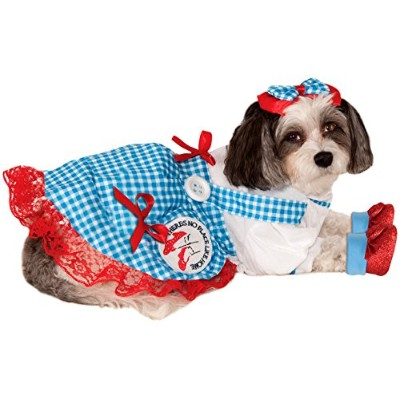 Wizard of Oz Pet Costume, Small, Dorothy by Rubie's
