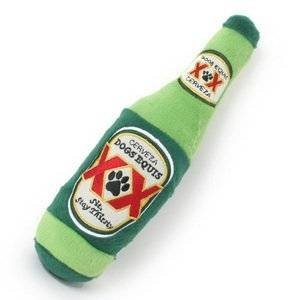 Dogs Equis Beer Dog Toy-- by Dog Diggin Designs