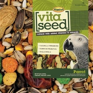 Higgins Vita Seed Natural Parrot 5 lb, Large by Higgins