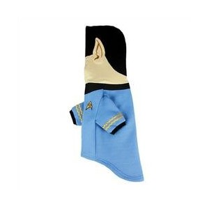 Star Trek Spock Dog Hoodie - Fits any size dog XXL - Plush Embroidered Ears and Sweatshirt Material by Star Trek