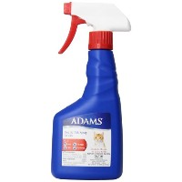 Adams Flea & Tick Spray Quick Relief Kills and Repels Solution for Cats 16oz