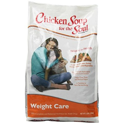 Chicken Soup for The Soul Weight Care Adult Dry Dog Food Pet Formulated 5lbs