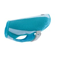 Canine Equipment Ultimate Cooling Coat for Dogs, Size 12, Aqua by Canine Equipment