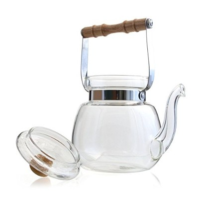 Yama Glass Chinese Water Kettle (40 oz) [並行輸入品]