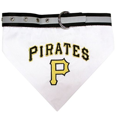 Pittsburgh Pirates Dog Bandana Collar Small