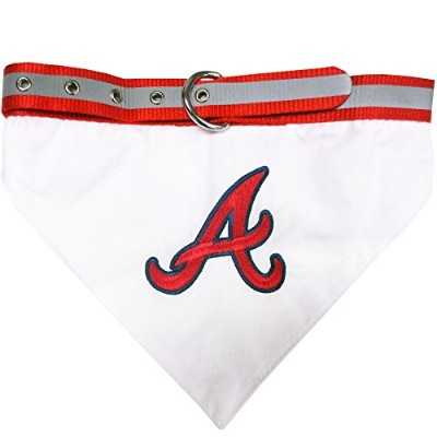 Atlanta Braves Dog Bandana Collar Medium